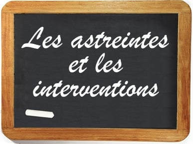 astreintes et interventions